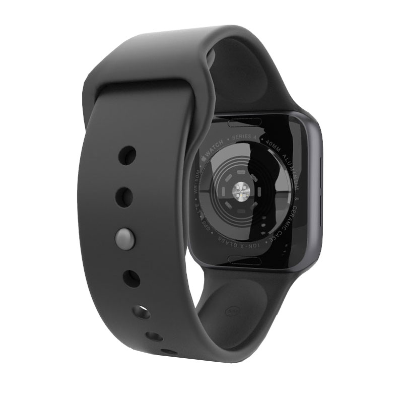 comprar popular 7fc68 ab954 Apple Watch - Series 4 - 44mm Space Grey Aluminum - Black Sport Band