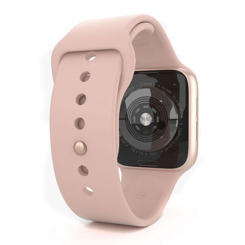 Apple Watch Series 4 44mm Gold Aluminum Pink Sport Band